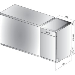 Посудомийна машина Indesit DSFO 3T224 Z